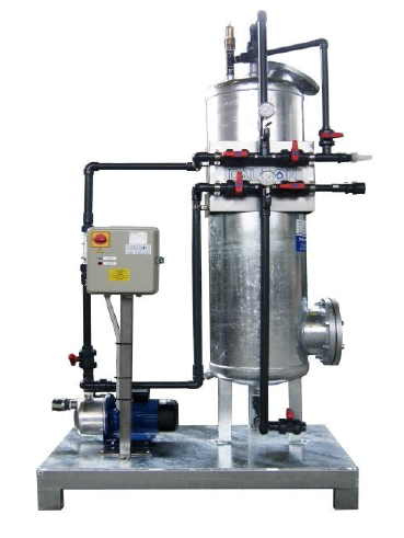 Depuratore acqua di scarico ← Laundry Equipments - Lavamac